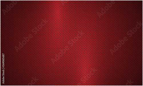 Fotografie, Obraz Red metal background with perforation