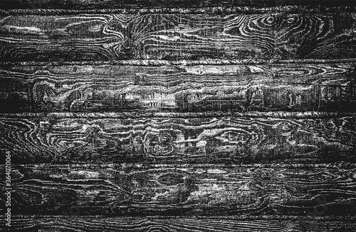 Fényképezés Distressed overlay wooden plank texture, grunge background.