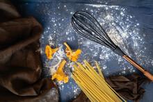 Ingredients For Making Pasta W...