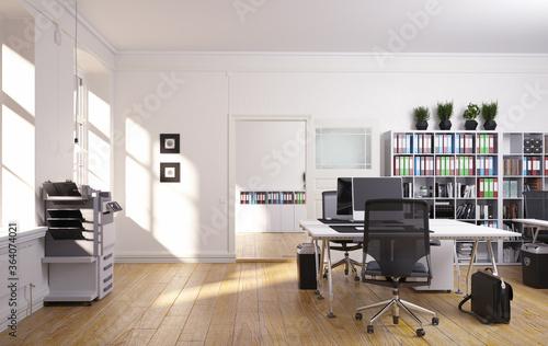 Fototapeta contemporary loft office obraz