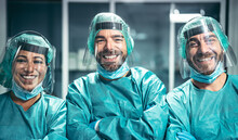 Surgeons Smiling After A Succe...