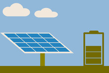 Renewable Energy Concept.The S...