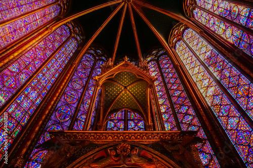 Fotografía Sainte-Chapelle, the royal chapel of King Louis IX and his family