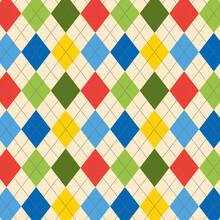 Seamless Pattern Argyle Style....