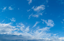 Background Image Of Blue Sky A...