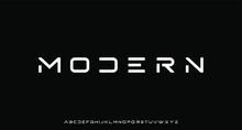 Modern, Futuristic Modern Geometric Font