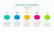 Business Infographic Vector Wi...