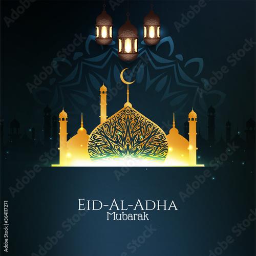 Obraz Elegant Eid-Al-Adha mubarak background - fototapety do salonu