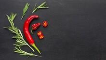 Copy-space Chilli Peper Photo