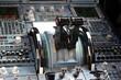 manettes de gaz avion de ligne