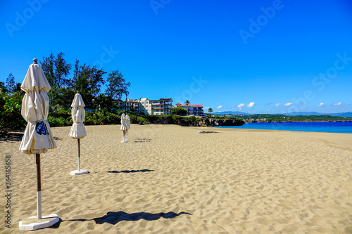 Sosua Beach Playa Alicia Canvas Print