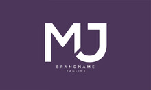 Alphabet Letters Initials Monogram Logo MJ, JM, M And J