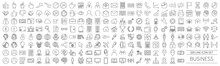 200 Line Icon Set Related To B...