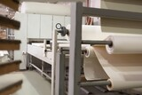 Fototapeta Kawa jest smaczna - Paper rolls on industrial factory
