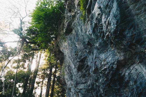 Fotografie, Obraz 山にある巨大な岩