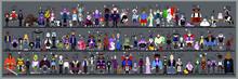 Personaggi E Caricature Serie 6