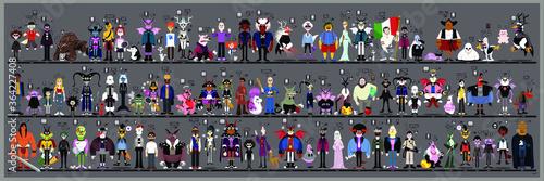 Fotografie, Obraz Personaggi e caricature serie 6