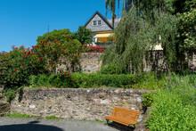 Eine Gartenanlage In Der Altst...