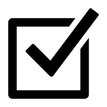 Checked Checkbox Or Vote / Vot...