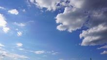 Ruhiger Himmel Am Mittag