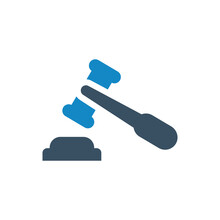 Gavel Hammer Icon
