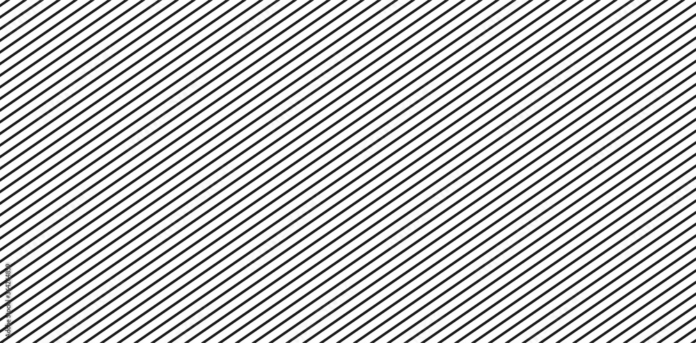 Fototapeta Diagonal lines pattern. Black and white stripes texture background. Design element oblique lines.