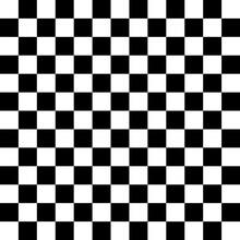 Checker, Chess Square Black An...