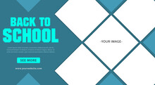 Back To School Banner Template...
