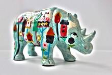 Elephant Figurine Isolated On ...