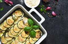 Zucchini Casserole With Cream,...