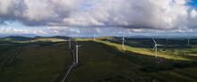 Wind Turbine Farm In Rural Nor...