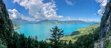 Wonderful Lake Between The Mou...
