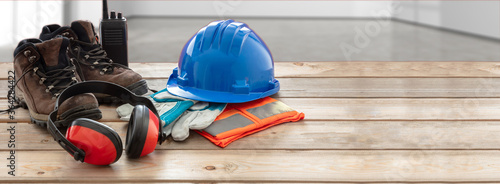 Work safety protection equipment Wallpaper Mural