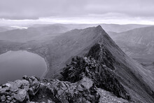 Striding Edge On Helvellyn In ...