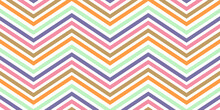 Colorful Zigzag Seamless Patte...
