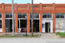 Shut Business Abandoned Rural ...