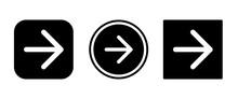 Arrow Right Icon . Web Icon Se...