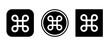 command icon . web icon set .vector illustration
