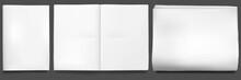 Newspaper Mockup. Blank Sheet ...