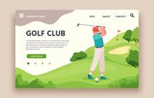 Golf Club Web Site. Sports Clu...