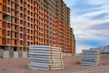 Concrete Slabs On A Constructi...