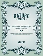 Vector Ornamental Nature Vinta...