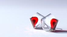 Broken Heart, Wine Love, Studio