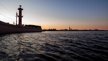 Spit Of Vasilyevsky Island And...