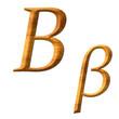 Greek alphabet wooden texture, Bita