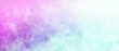 Watercolor background in blue white pink and purple painting with cloudy distressed texture and marbled grunge, soft fog or hazy lighting and pastel colors