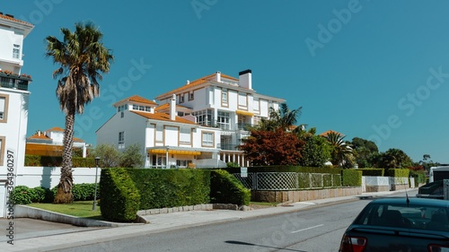 Typical house on the island of la toja in pontevedra