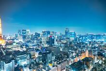 都市風景 東京 夜景