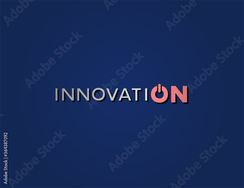 Cuadros en Lienzo Creative design of innovation message