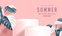 Summer Sale Design With Produc...